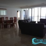 1.- Condo Palmas Reales 3 C - Living & Dining room