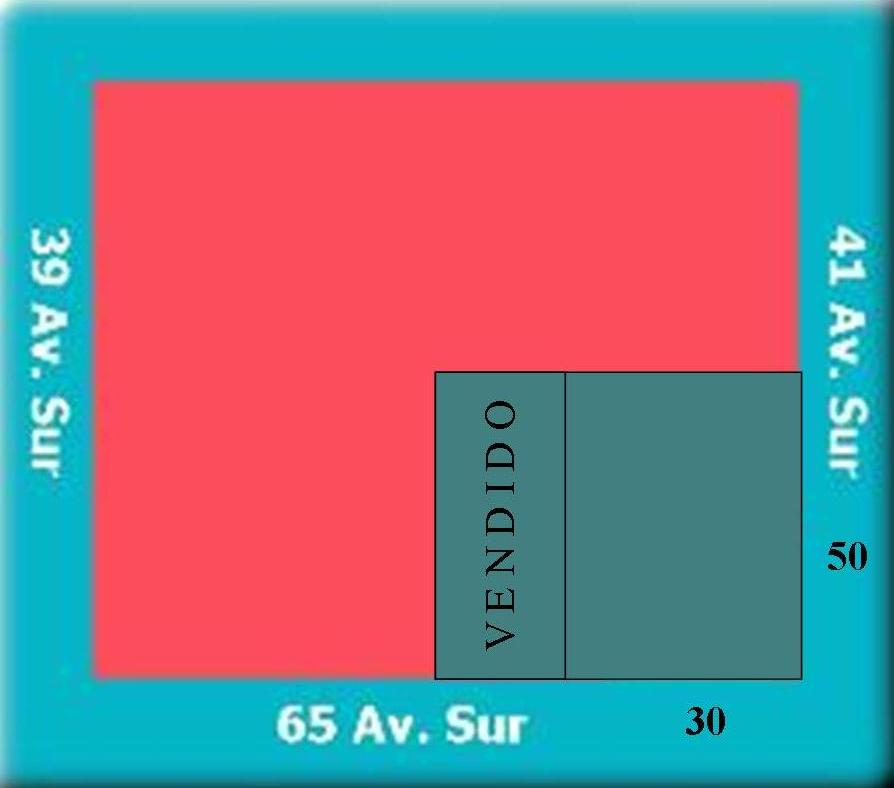 1.-Croquis para Terreno 65 Avenida Zona Industrial
