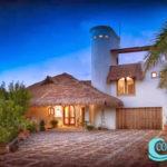 1.- Villa Tunich - Front View, Cozumel.