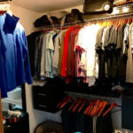 10.- Walk in closet from master bedroom