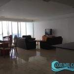 2.- Condo Palmas Reales 3 C - Living-Dining room