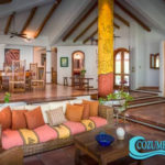 2.- Villa Tunich - Living room, Cozumel.