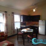 4.- Departamento 2 Palmas - Dining room & kitchenette
