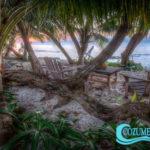 9.- VillaTunich - Beach front, Cozumel.