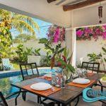 11.- Casa Luna - Porch & Swimming pool