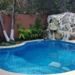 22.- Casa Cary - Pool with waterfall