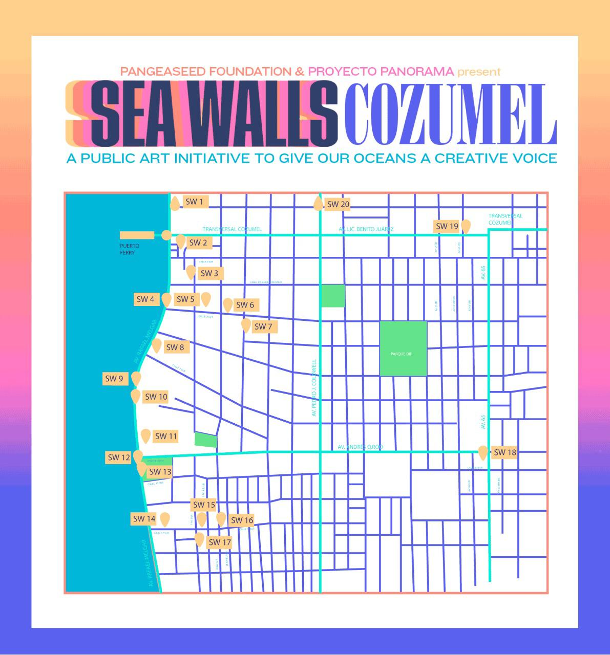 Sea Walls Cozumel 2019
