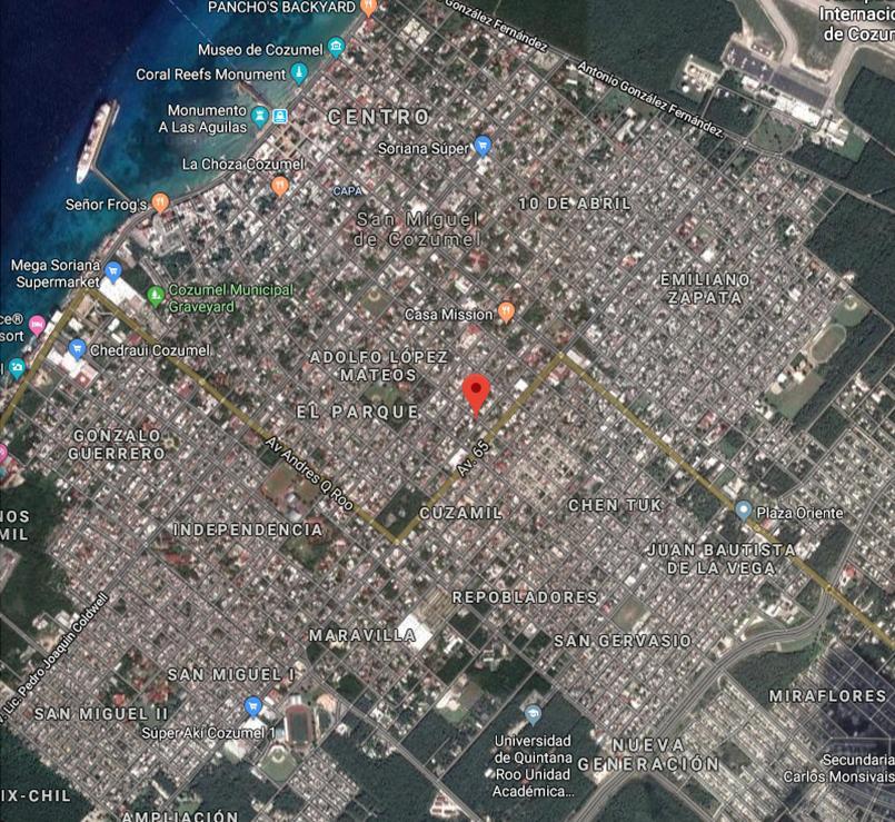 Lote Morelos x 60 Avenida - map